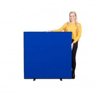 Economy Office Screen size 1200mm w x 1200mm h Nyloop Fabric