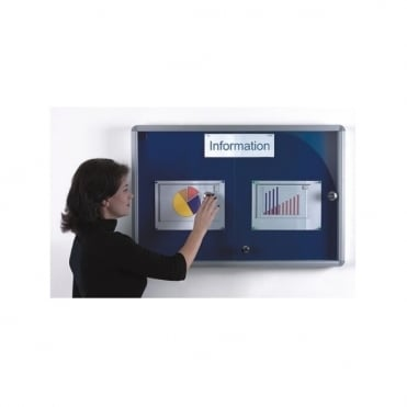 Security Showcase Notice Board, 900mm x 600mm