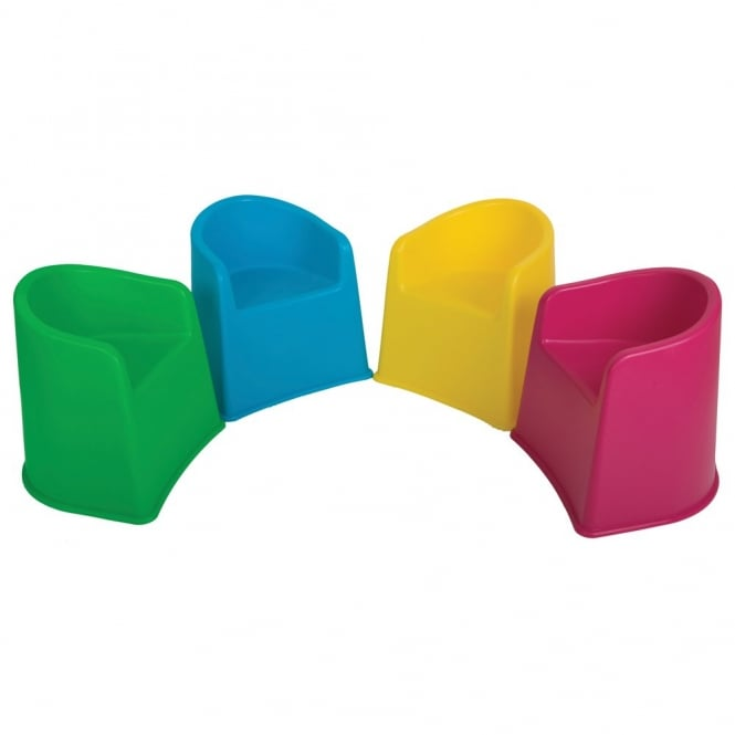 Stackable Plastic School Tub Chairs