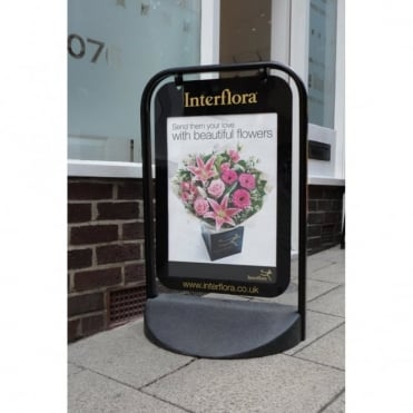 Swinger 2000 A2 Poster Pavement Sign