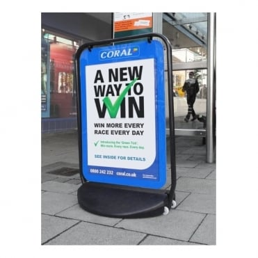 Swinger 4000 A1 Poster Pavement Sign