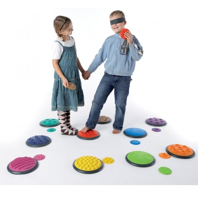 Tactile Discs – Set 1 School Creative Play