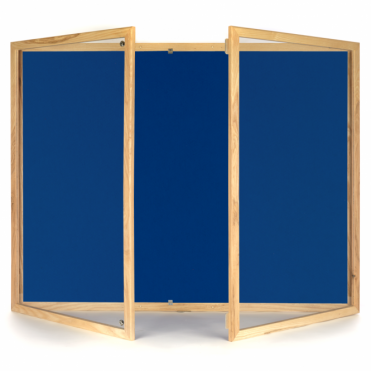 Tamperproof Felt Noticeboard with Wood Frame