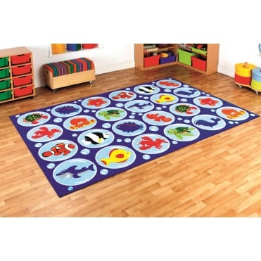 Under the Sea™ Rectangular Placement Carpet